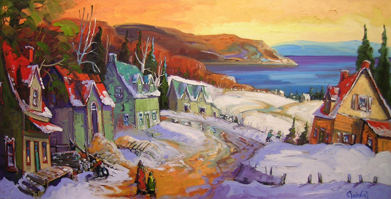 "Image of art work ""Horizon Lointain Charlevoix"""