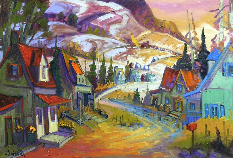 "Image of art work ""Lumiere du Printemps a Charlevoix"""