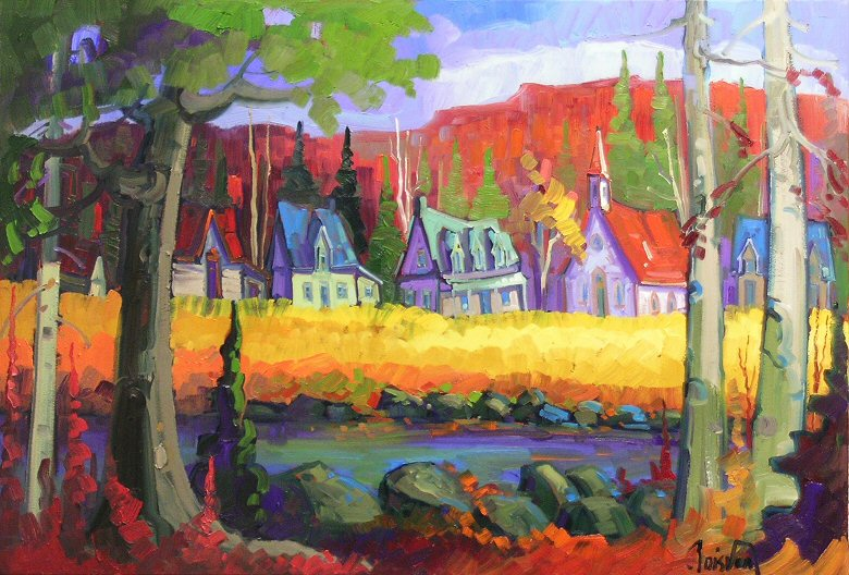 "Image of art work ""Petite Chapelle a la Campagne"""