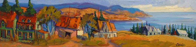 "Image of art work ""Village de Charlevoix"""