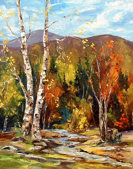 "Image of art work ""Indian Summer"""