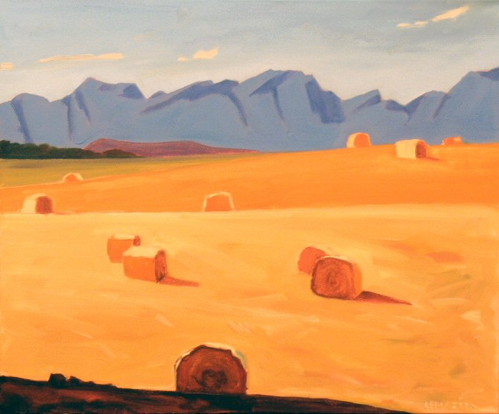 "Image of art work ""Foothills Colours"""