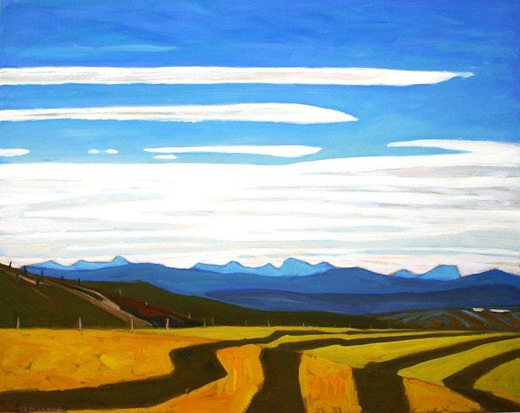 "Image of art work ""Field in the Afternoon"""