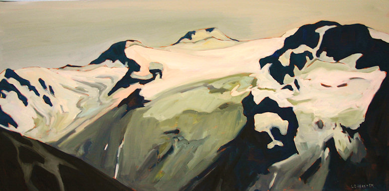 "Image of art work ""View West from Glacier Dome"""