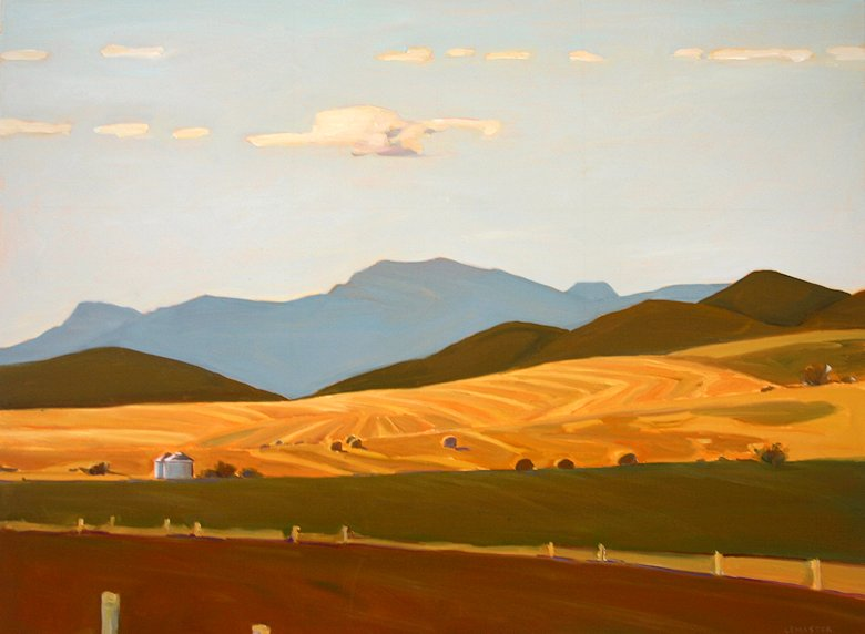 "Image of art work ""Foothills Country"""