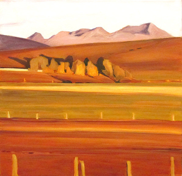 "Image of art work ""Warm Fall Morning"""