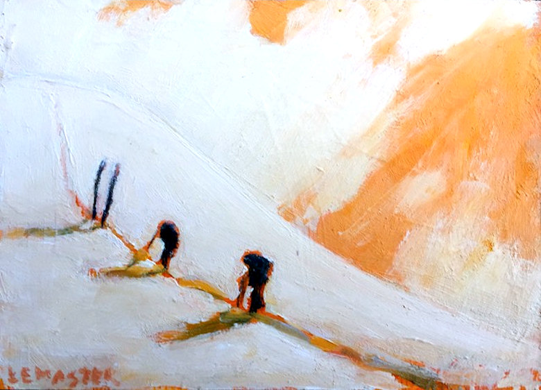 "Image of art work ""Orange Storm"""
