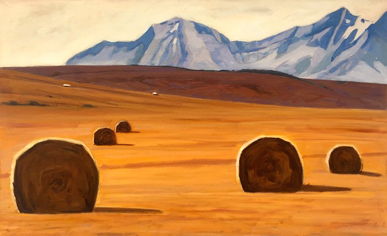 "Image of art work ""Foothills of Alberta"""