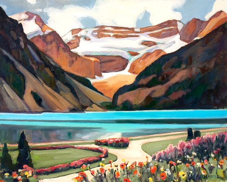 "Image of art work ""Lake Louise"""