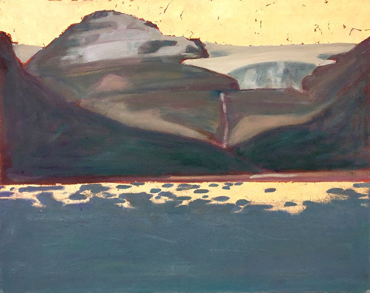"Image of art work ""Bow Lake and Glacier"""