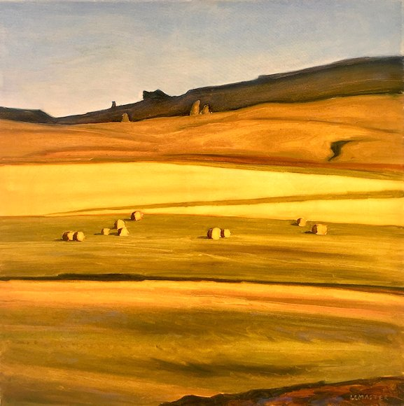 "Image of art work ""Field in Late Afternoon"""