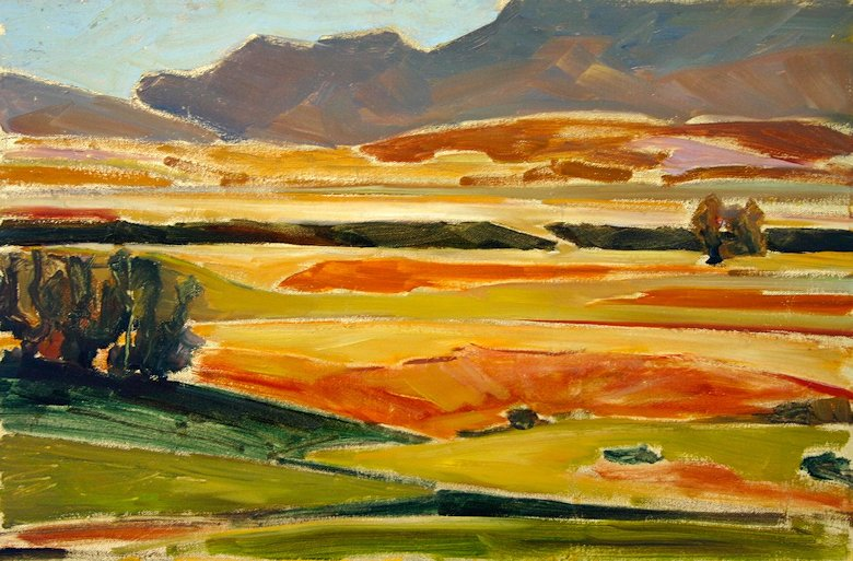 "Image of art work ""Shadows on the Field"""