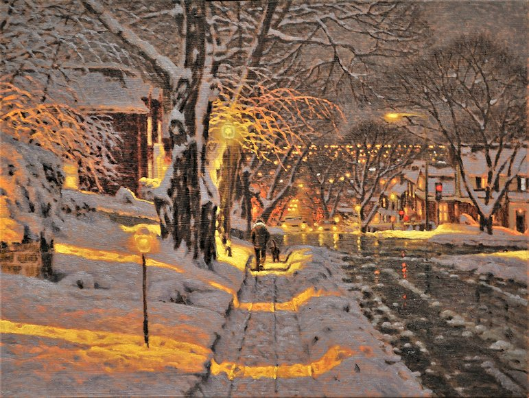 "Image of art work ""Clarke et the Boulevard Westmount Montréal"""