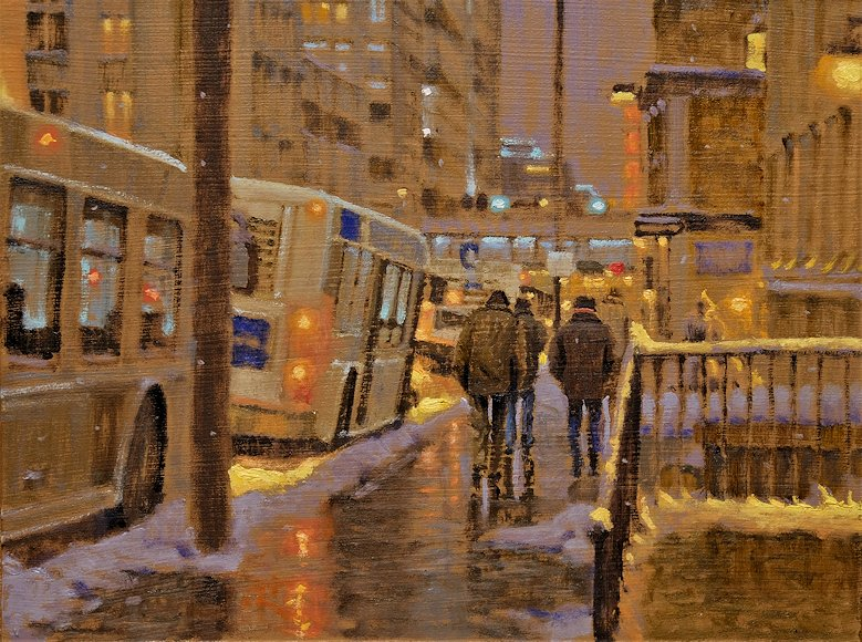 "Image of art work ""End of Day in Calgary"""