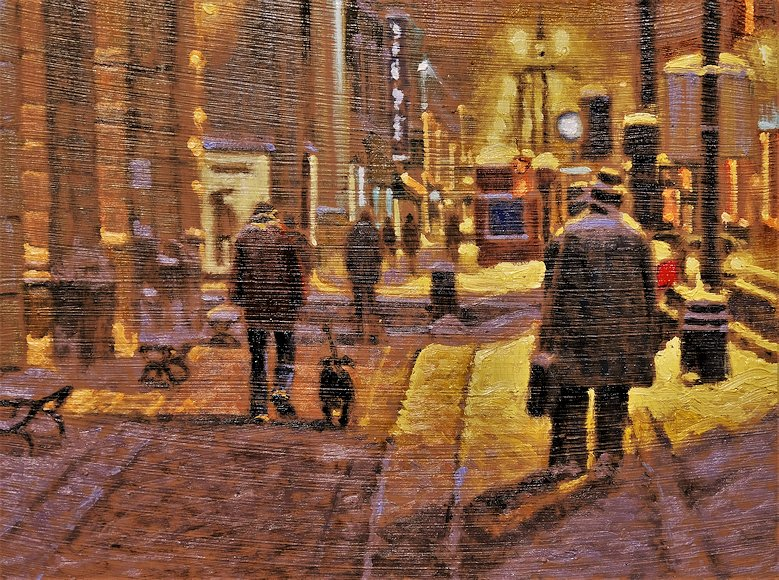 "Image of art work ""Winter in Calgary"""