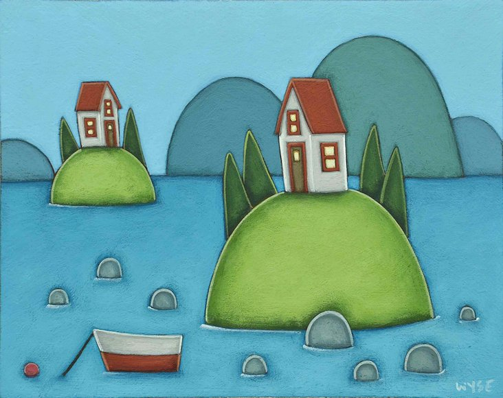 "Image of art work ""Life as an Island I"""